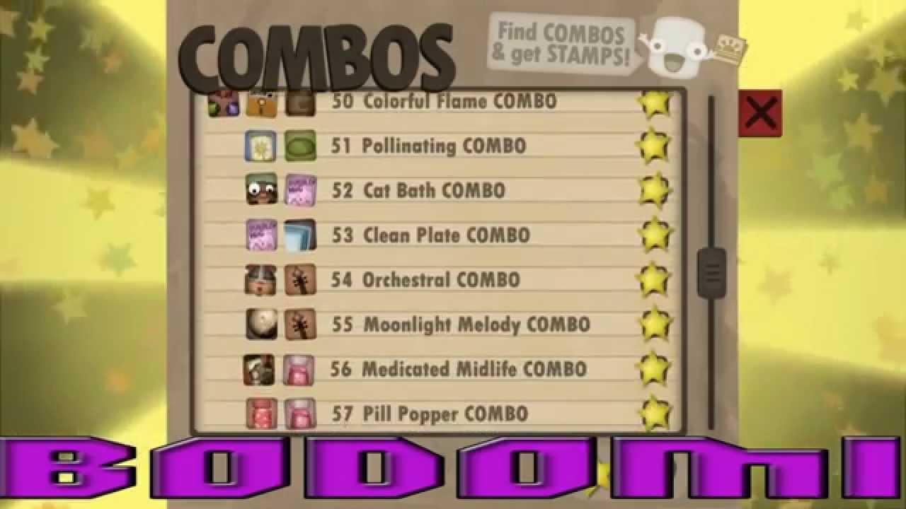 Minecraft Combos List