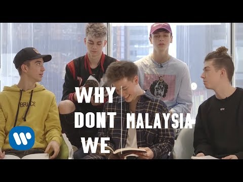 "Why Don't We ""Answerlah"" Interview!"