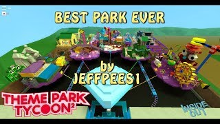 """""""INSIDE OUT"""" by JEFFPEES1 GRANDMASTER BUILDER EVER -Theme park tycoon 2 roblox"""