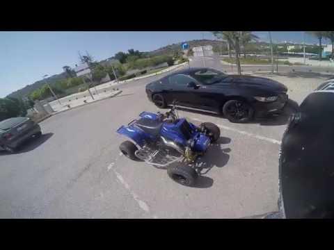 Top speed quad Yamaha banshee 350