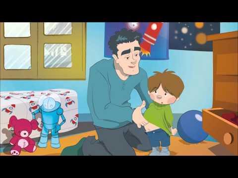 Cuentos en inglés para niños con Greenman and the Magic Forest: Nivel A Unidad 4 - It's Too Small