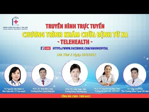 [TRỰC TIẾP] CHƯƠNG TRÌNH TELEHEALTH NGÀY 01/04/2021