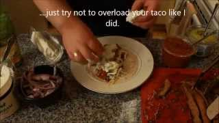 Chipotle Marinated Beef Flank Steak Tacos