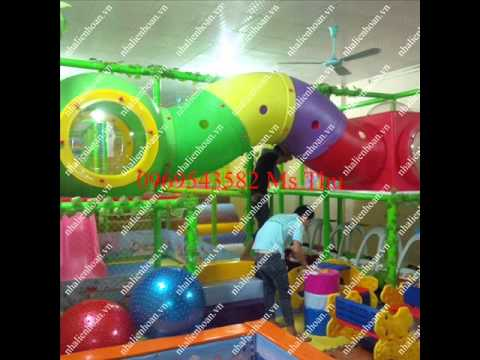 Thiết bị vui chơi khu vui chơi trẻ em – Công trình đã hoàn thành tại Hưng Yên