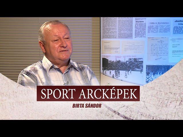 SPORT ARCKÉPEK - VENDÉG: BIRTA SÁNDOR
