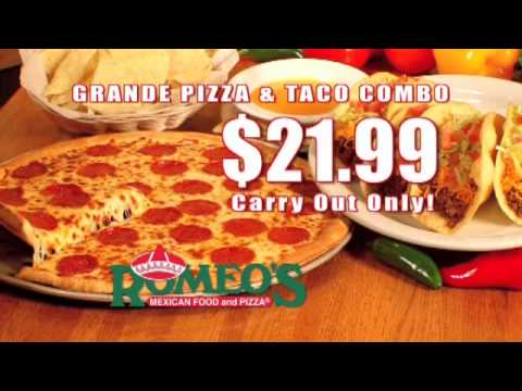 Romeo S Mexican Food Pizza