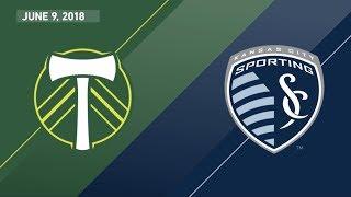 HIGHLIGHTS: Portland Timbers vs. Sporting Kansas City | June 9, 2018