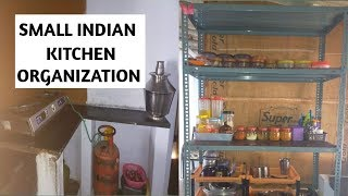Kitchen Tour Small Indian Kitchen Organize Kitchen Without Cabinets Kitchen Organization Gv 7 Cute766