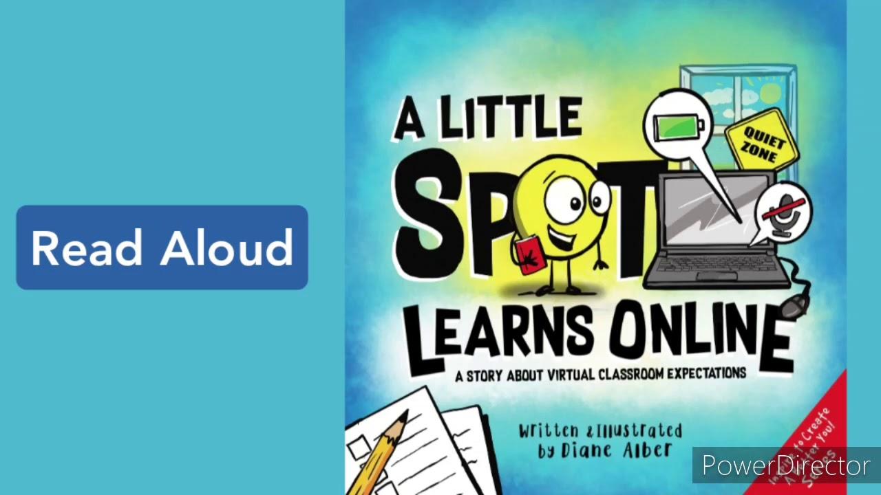 A Little Spot Learns Online by Diane Alber | Read Aloud Fun - YouTube