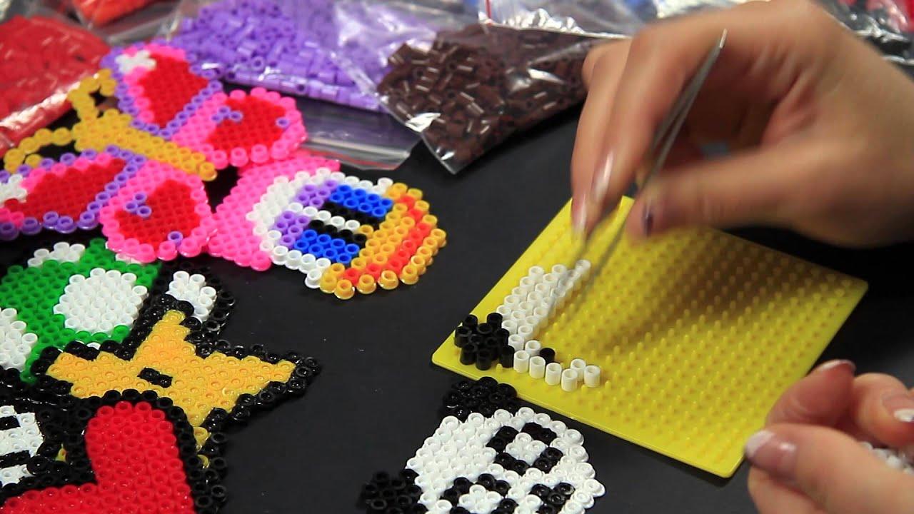 Conosciuto Video Tutorial - Panda - Hama Beads Pyssla Perline Midi a  CZ79