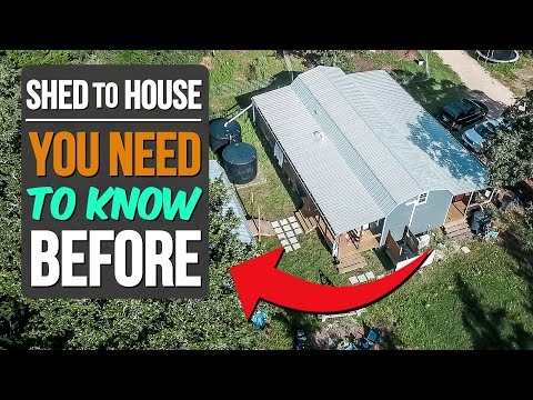 5 Things We Wish We'd Known Before Converting a Shed into a House
