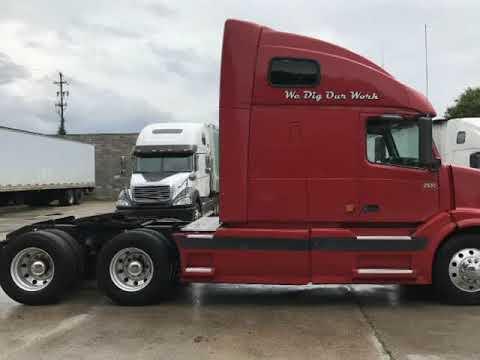 2006 Volvo Vnl 670 Semi Truck Ve D12 465hp Sel 12 Sd Auto Meritor Dot Ready Akron Ohio
