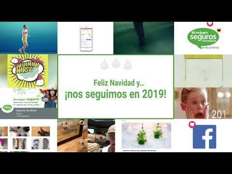 Felicitación Navidad 2018 - 2019 Seguros El Corte Inglés