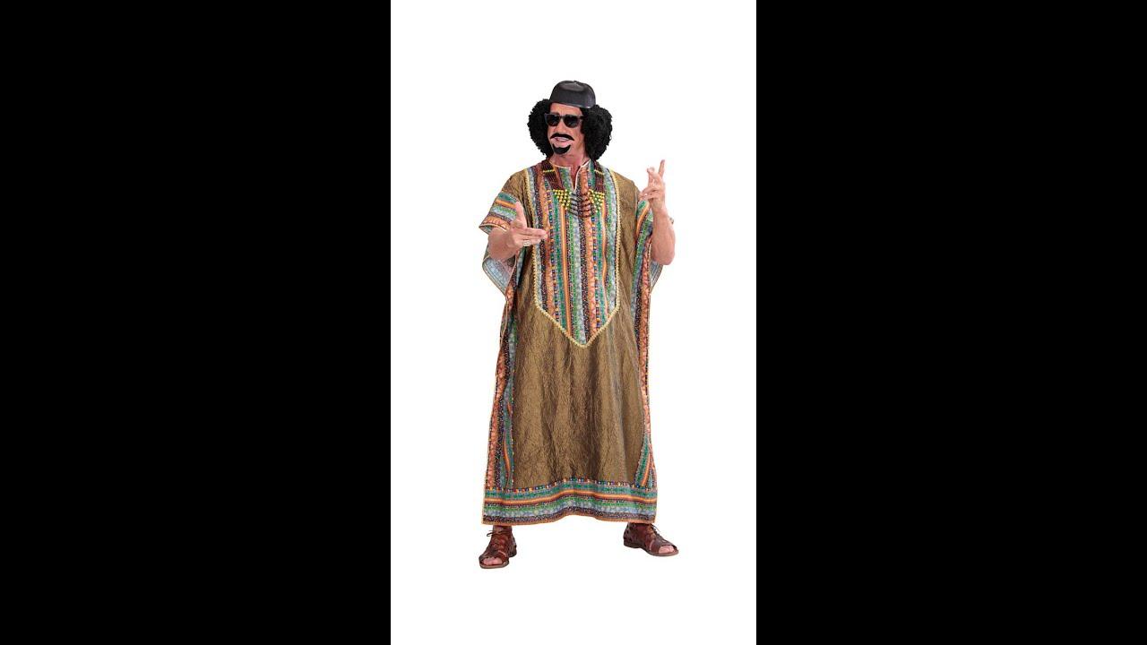 Tlxl de Disfraz dictador de africano Disfraz WIEHYeD29