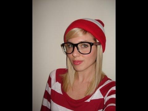How To Wheres Waldo Halloween Costume Youtube