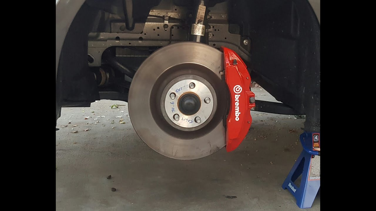 Brembo Red Brake Caliper Paint