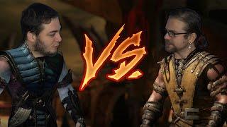 Yüze Mandal Takma Cezalı Mortal Kombat X