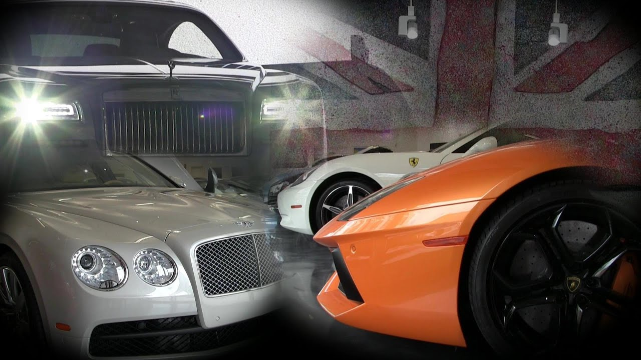 Supercar And Ultralux Collection Aston Martin Bentley Rolls Royce
