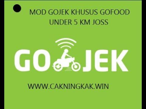 Mod Gojek Khusus Gofood Under 5Km Gacor Abis Mantap