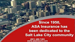 Insurance Salt Lake City, UT - 801-486-7463 - ASA Insurance Seguros