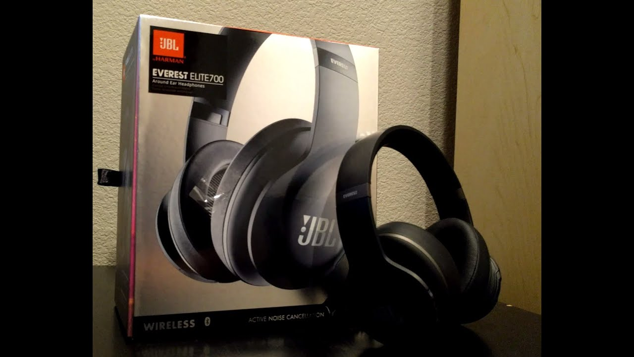 jbl everest elite 700 unboxing and first impressions youtube. Black Bedroom Furniture Sets. Home Design Ideas