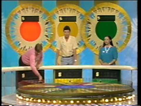 Ian Carter Wheel of Fortune Ernie Sigley and Adriana Xenides part 1