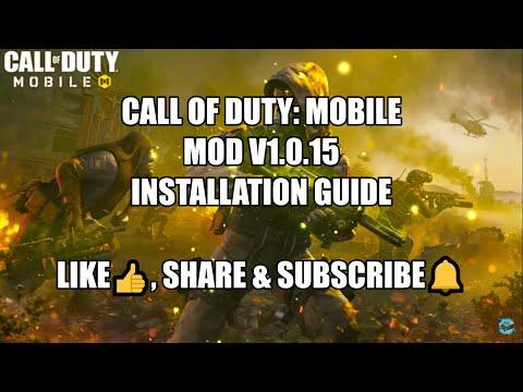 How to install Call of Duty Mobile V1.0.15 Mod APK