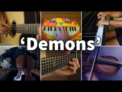 Who Played It Better: Demons - Imagine Dragons (Guitar, Piano, Cello, Violin, Cat Piano)