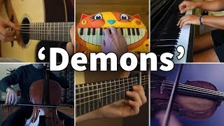 Who Played It Better: Demons - Imagine Dragons (Guitar, Piano, Cello, Violin, Cat Piano) Video