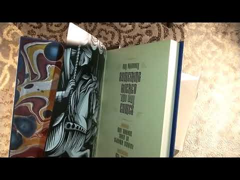 Unboxing something wicked this way comes by ray bradbury centipede press limited edition neil gaiman mp3
