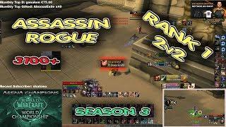 ASSASSINATION ROGUE ARENA 3100+ BfA Season 3 [Whaazz]