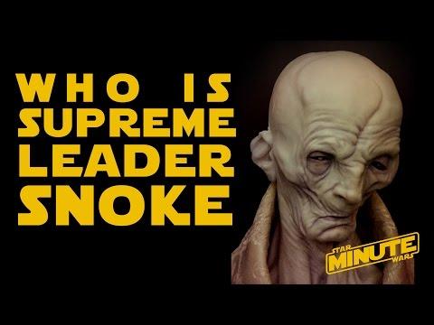 Who is Supreme Leader Snoke - Star Wars Explained