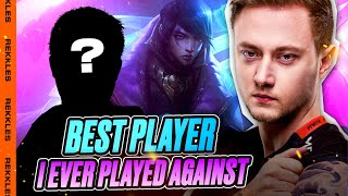 Rekkles | Aphelios/Ezreal ADC: Best player I EVER played against?!