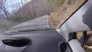 Yaris chasing turbo Miata