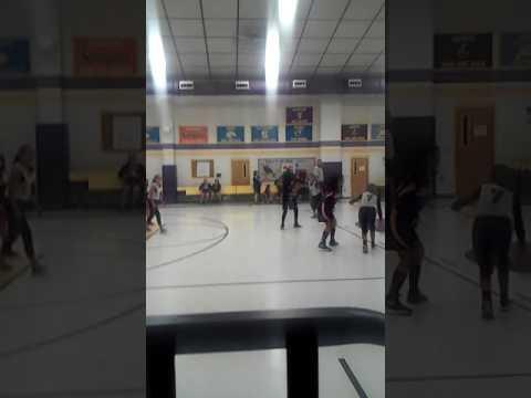 Basketball Girls playing Idea Vs Horizon Montessori II
