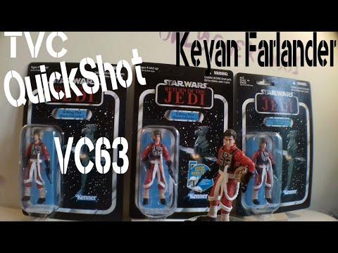 "2011 STAR WARS THE VINTAGE COLLECTION KEYAN FARLANDER 3.75"""