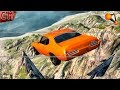 BeamNG Drive Driving From Cliff