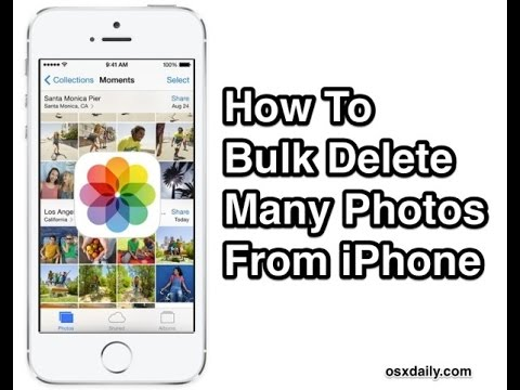 fast way to delete contacts on iphone how to quickly delete photos from iphone how to delete 19705
