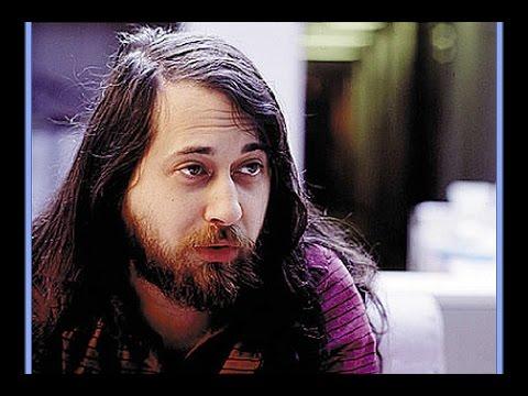 Richard Stallman w Hakerzy  -  Czarodzieje Wieku Elektroniki