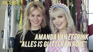 AMANDA VAN EFFRINK heeft zelfs een joggingpak met glitters #GLITZIEGAL