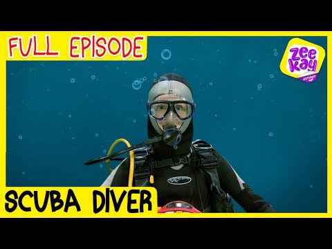Let's Play: Scuba Diver | FULL EPISODE | ZeeKay Junior