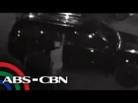 TV Patrol: 'Basag-kotse' sa Marikina, sapul sa cctv