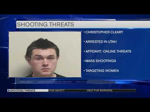 Chris Proctor - Man Arrested After Threatening to Kill As Many Women As Possible