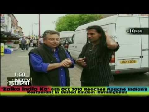 NDTV Zaika India Ka With Apache Indian.(Rajjj)