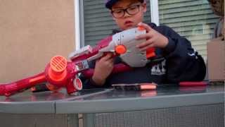 Nerf Unity Power System Unboxing