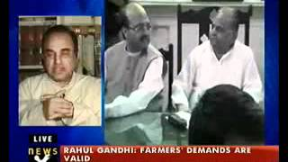 Dr Subramanian Swamy talks about SC decision to allow airing of Amar Singh tapes