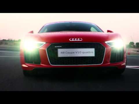 The All-new Audi R8 V10 Driving Experience