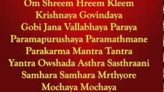 Sri Sudarshana Mantra (Different) By  Krishna.