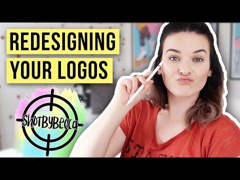 Redesigning Your Logos ✍️Using Procreate & Adobe Illustrator thumbnail