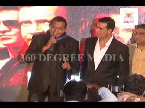 """Download Mithun Chakraborty talks about Akshay Kumar's Foot Injury at the Music Launch a """"Enemmy"""""""
